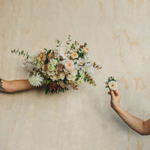 Load image into Gallery viewer, Bridal Bouquet + Boutonnière
