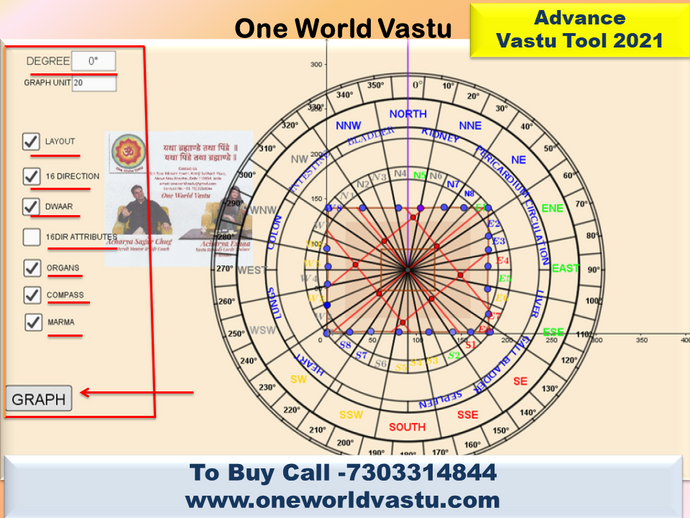 How to Use Advance Vastu Tool - Demo by Vastu Trainer Acharya Sagar Chug