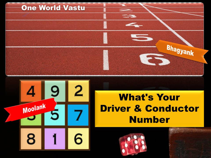 Calculate Your Driver & Conductor Number