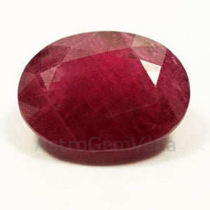 Ruby - माणिक 6.25 Ratti -Manik  With Lab Certificate - One World Vastu