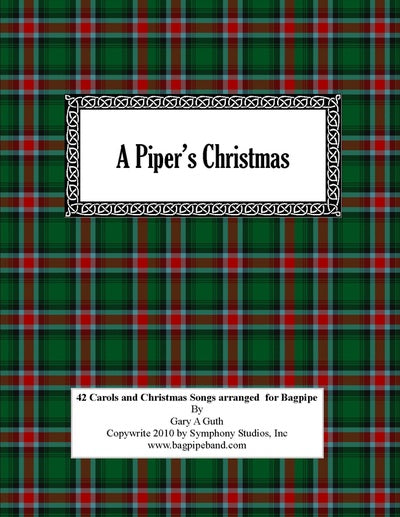 1 Christmas Carol At a Time $3.00 Each With Practice Chanter Audio.  The First One is Free!