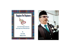 Load image into Gallery viewer, Bagpipes For Beginners Book and Audio