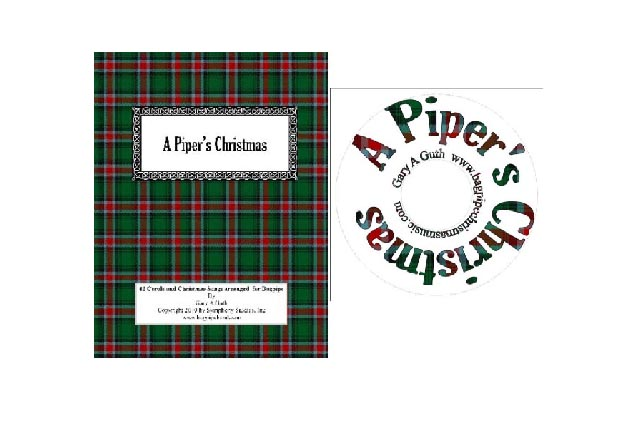 A Piper's Christmas-42 Hymns Songs and Carols arranged for the bagpipe!
