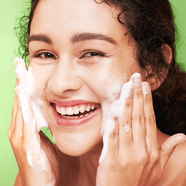 foam facial cleanser for sensitive skin