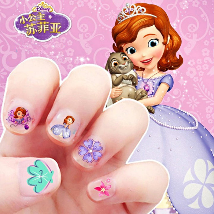 5Pcs Nail Art Stickers, Cartoon Nail Sticker, DIY Nail Decorations, Cute/Lovely Nail Stickers - J012