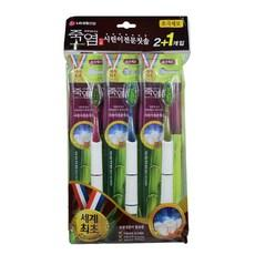 LG Bamboo Salt Oral Care Toothbrush 2+1(3ea)