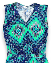 Load image into Gallery viewer, Tribal Geometric Sleeveless Party Wear Romper Jumpsuit Pants
