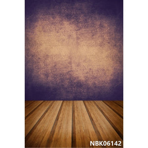 Laeacco Grunge Gradient Wooden Floor Portrait Custom Vintage Photographic Backgrounds For Photography Backdrops For Photo Studio