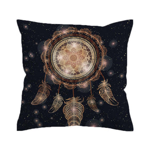 Dreamcatcher Cushion Cover Galaxy Pillow Case