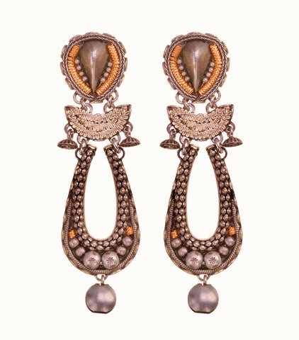 Silver Earrings by Ayala Bar