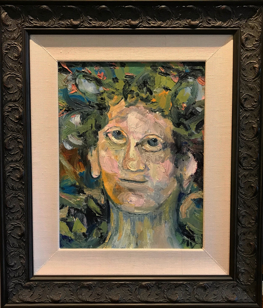 The Face of Kindness; Oil on Canvas by Mindy Yanish