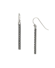 Sterling Dot Branch Earrings Wire