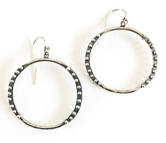 Double Crescent Earrings by Nikki Nation