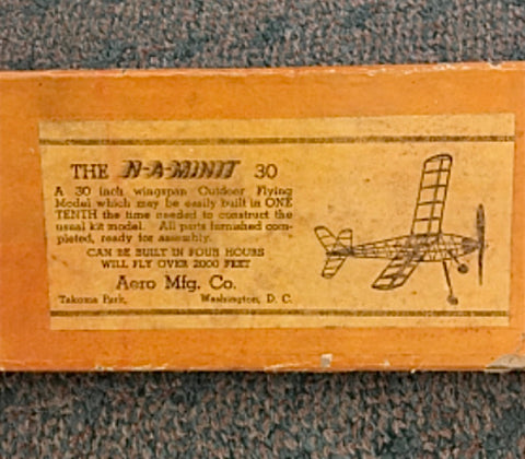 Antique Airplane Model Kit ca. 1930