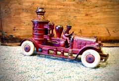 Antique Fire Engine Toy ca. 1900