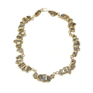 Labradorite Collar Necklace by Emilie Shapiro