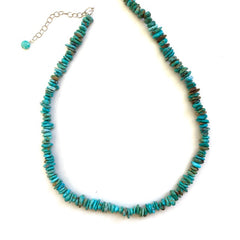 Single Strand Handmade Turquoise Necklaces