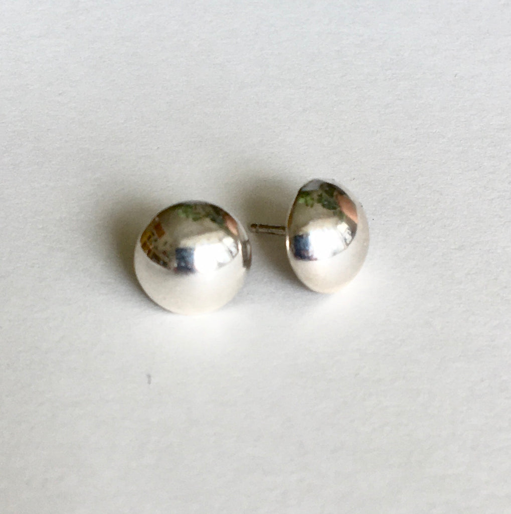 Navajo Sterling Dome Stud Earrings