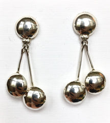 Navajo Sterling Dangle Earrings