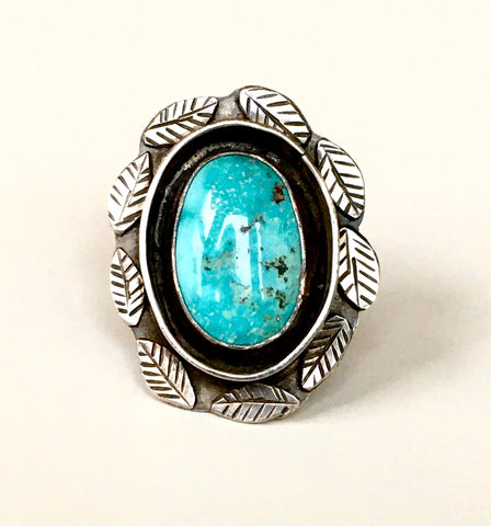 Handmade Sterling & Turquoise Ring