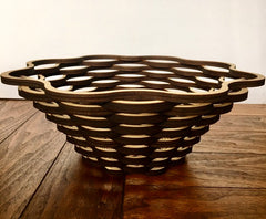 Laser Cut Birch Bowl Centerpiece