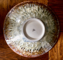 Large Porcelain Ceramic Serving Platter/Bowl
