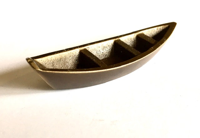 Mini Bronze Boat Sculpture