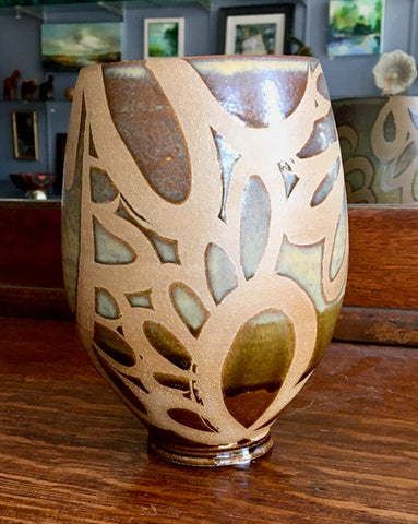 Liz Kinder Art Vase