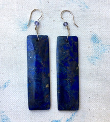 Flora Grateful Lapis Earrings