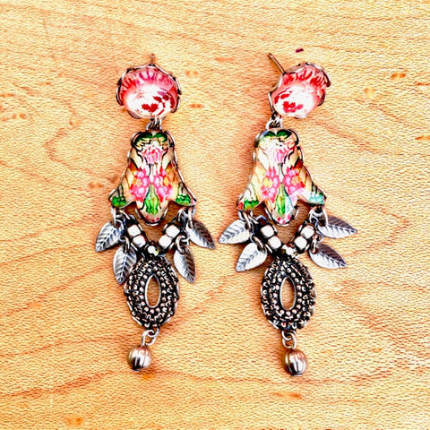 Floral Dangle Earrings by Ayala Bar