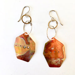 Handmade Copper Earrings