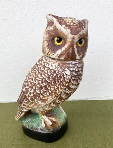 Vintage Jim Beam  Owl Decanter 1979