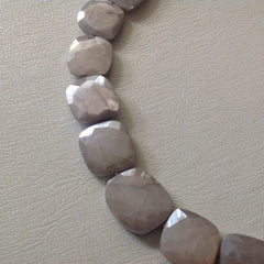 Hand Knotted Moonstone Necklace