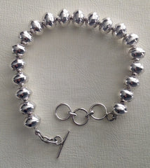 Navajo Sterling Bracelet by Shirley Johnson