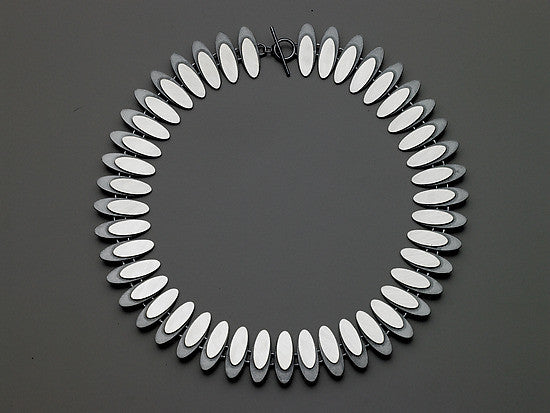 Eclipse Sterling Silver necklace by Heather Guidero