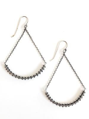 Dot Arc Earrings by Nikki Nation