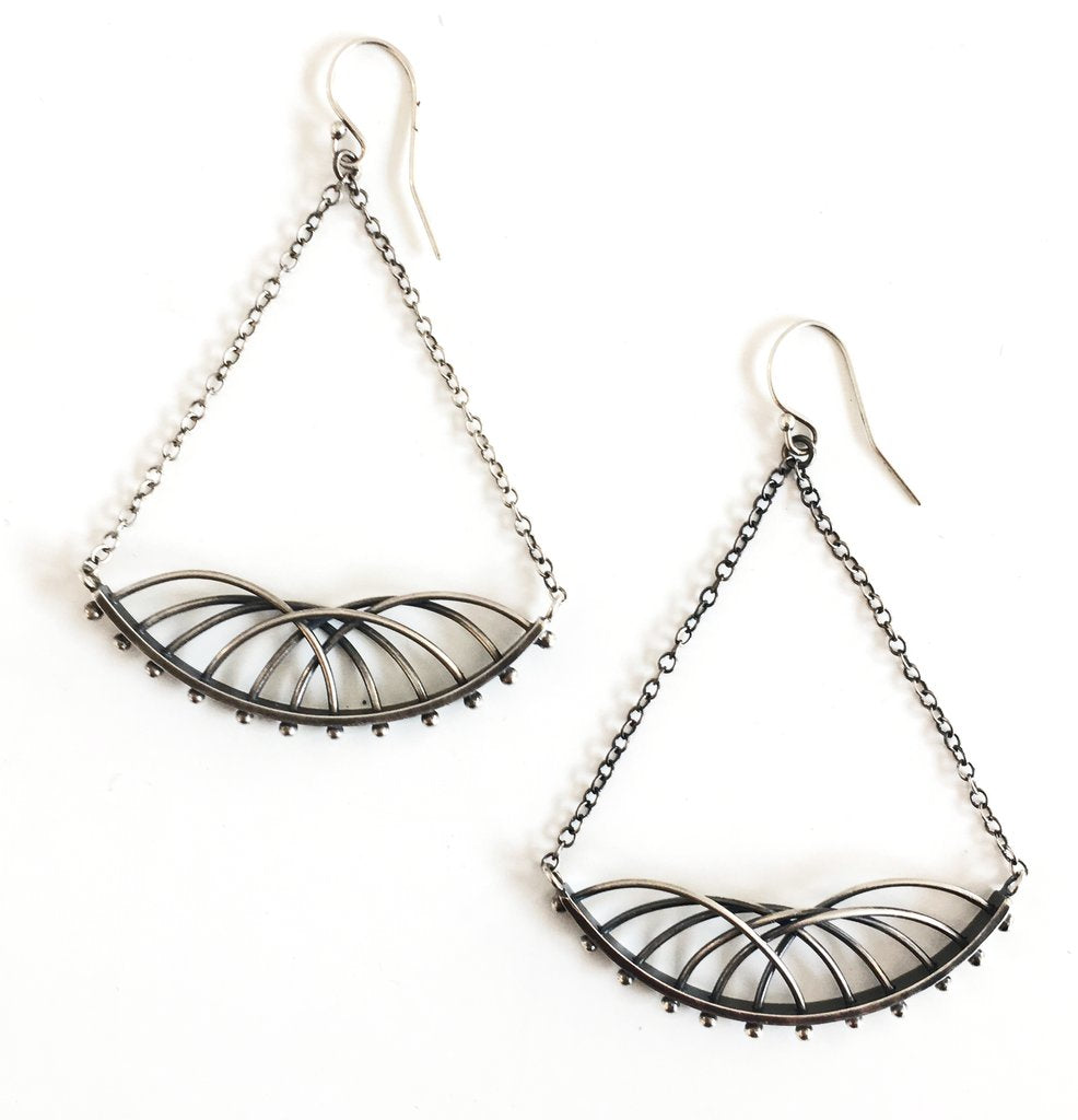 Arc Earrings by Nikki Nation