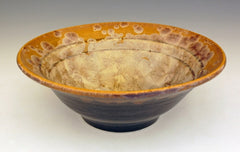 Magic Crystalline Glazed Porcelain Serving Bowl