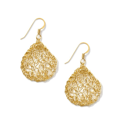 14k Gold Filled Small Teardrop Earrings