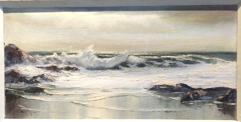 Seascape Oil Painting by Albert Duvall Quigley