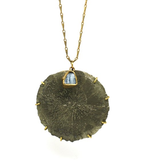 """Sun Pyrite"" Necklace"