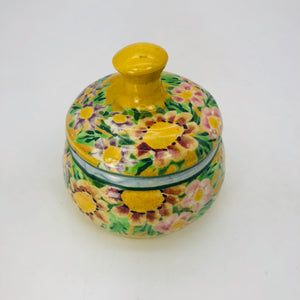 Covered Jar - small