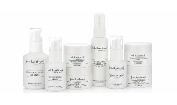 Fall skincare regimen with Josh Rosebrook