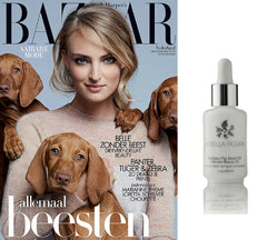 La Bella Figura Organic Barbary Fig Seed Oil / Prickly Pear Seed Oil Harper's Bazaar October 2015