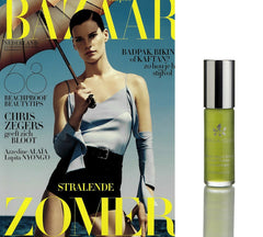 La Bella Figura Travel Therapy Botanical Mood Booster in Harper's Bazaar July August 2015