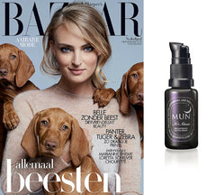 MUN No.1 Aknari Brightening Youth Serum Harper's Bazaar October 2015
