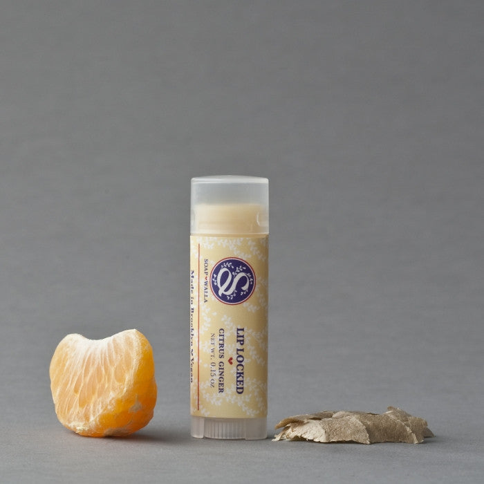 Soapwalla Lip Locked Citrus Ginger Lip Balm