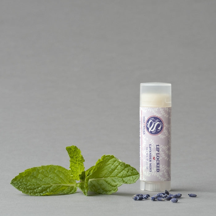 Soapwalla Lip Locked Lavender Mint Lip Balm