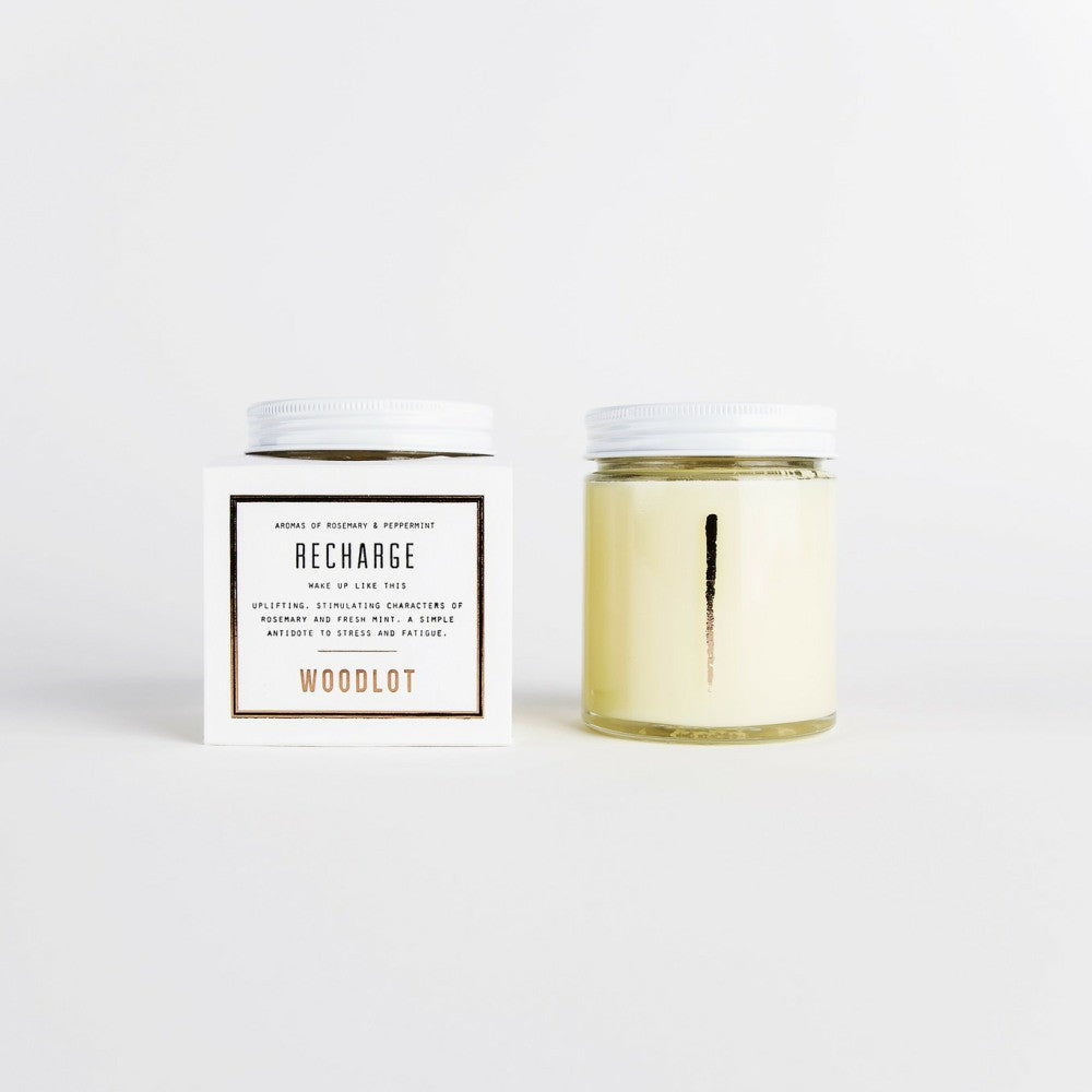 Woodlot Candle - Recharge