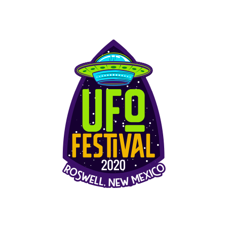 Commemorative 2020 UFO Festival Pin